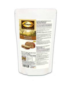 Monschauer Körnerbrot low carb glutenfrei sojafrei Dr. Almond paleo brot backmischung eiweissbrot