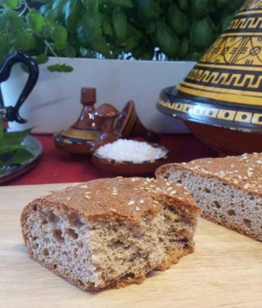 Marokkanisches Fladenbrot low carb döner kebap gyros glutenfrei