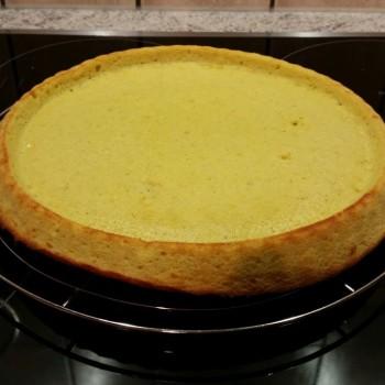 So sieht ein Obstboden aus dem Kuchenzauber aus. Jetzt muss er nur noch lecker belegt werden.