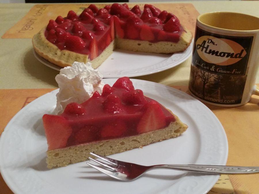 Richtig lecker wird das mit frischen Erdbeeren!