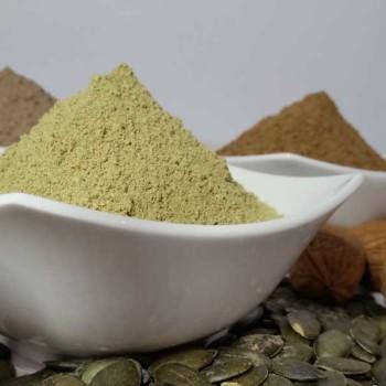 Kürbiskernmehl und Walnussmehl - Dr. Almond lowcarb glutenfrei sojafrei