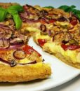Pizza Flammkuchen low-carb glutenfrei sojafrei superfood leinsamen pizzateig backmischung pizzamischung keto