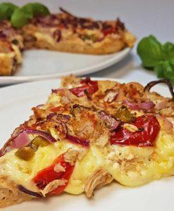 Pizza low-carb glutenfrei sojafrei superfood leinsamen pizzateig backmischung pizzamischung keto