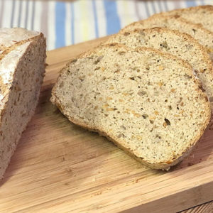 Weltmeisterbrot low-carb glutenfrei paleo Eiweißbrot Backmischung