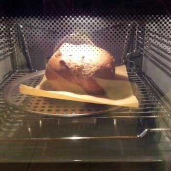 ... wenn es im Ofen in die Höhe schiesst.