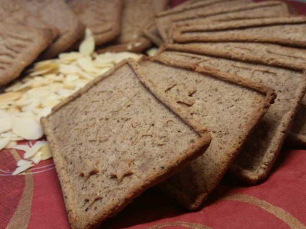 Weihnachtszauber Spekulatius Backmischung low-carb glutenfrei paleo sojafrei Weihnachtsplätzchen Weihnachtskekse