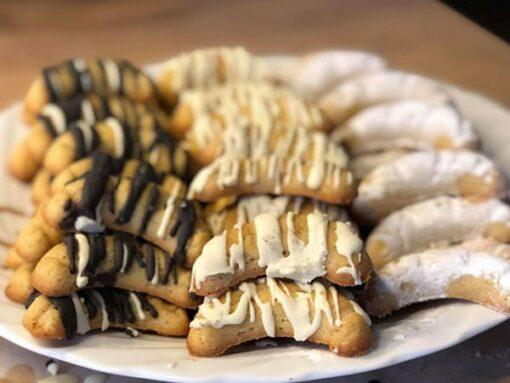 Weihnachtszauber Backmischung VANILLEKIPFERL Weihnachtskekse low-carb keto glutenfrei OHNE Zuckerzusatz LIMITED EDITION