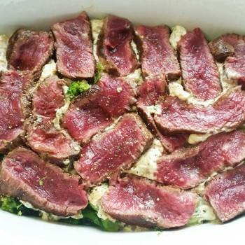 Steak-Auflauf-lowcarb