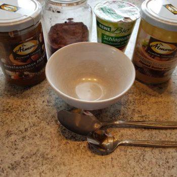 2 min Nutella Schokocreme lowcarb glutenfrei Dr Almond