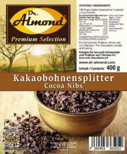 Kakaonibs Kakaobohnensplitter lowcarb