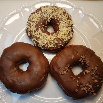 Donuts Nougat lowcarb glutenfrei Dr Almond