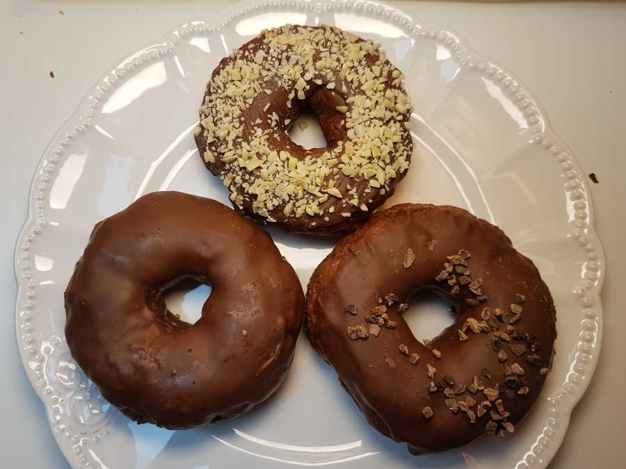 Donuts Nougat lowcarb glutenfrei Dr Almond