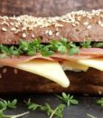 Laugenbaguette low carb glutenfrei