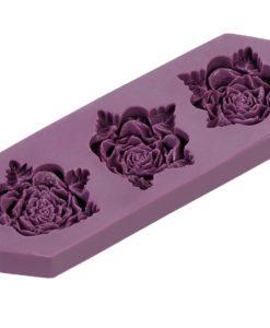 Prägeform Rosen 3 cm