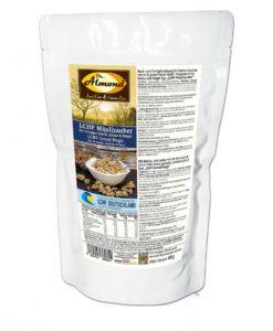 Low-carb Muesli Knuspermuesli Granola glutenfrei sojafrei