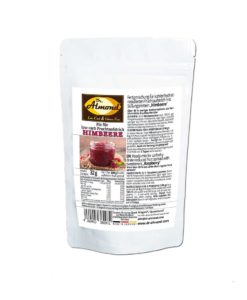HIMBEERE-Fix-für-low-carb-Fruchtaufstrich low carb kalorienarm ohne xylit