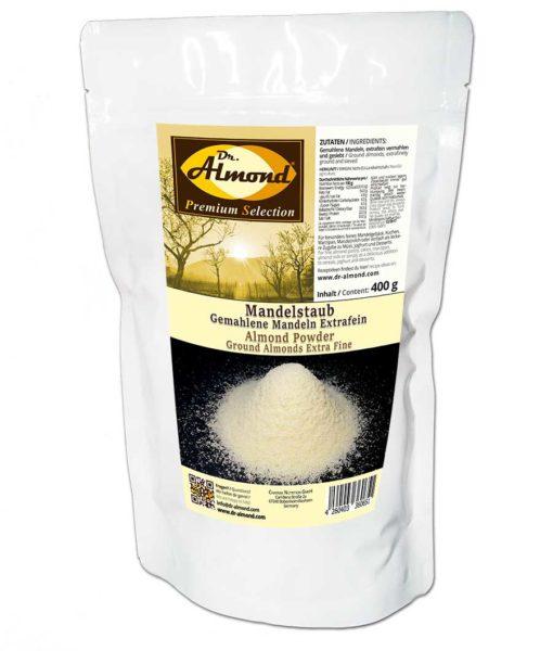 Mandelstaub extrafein low-carb backen glutenfreies Mehl Marzipan Mandelmilch Mandelmehl