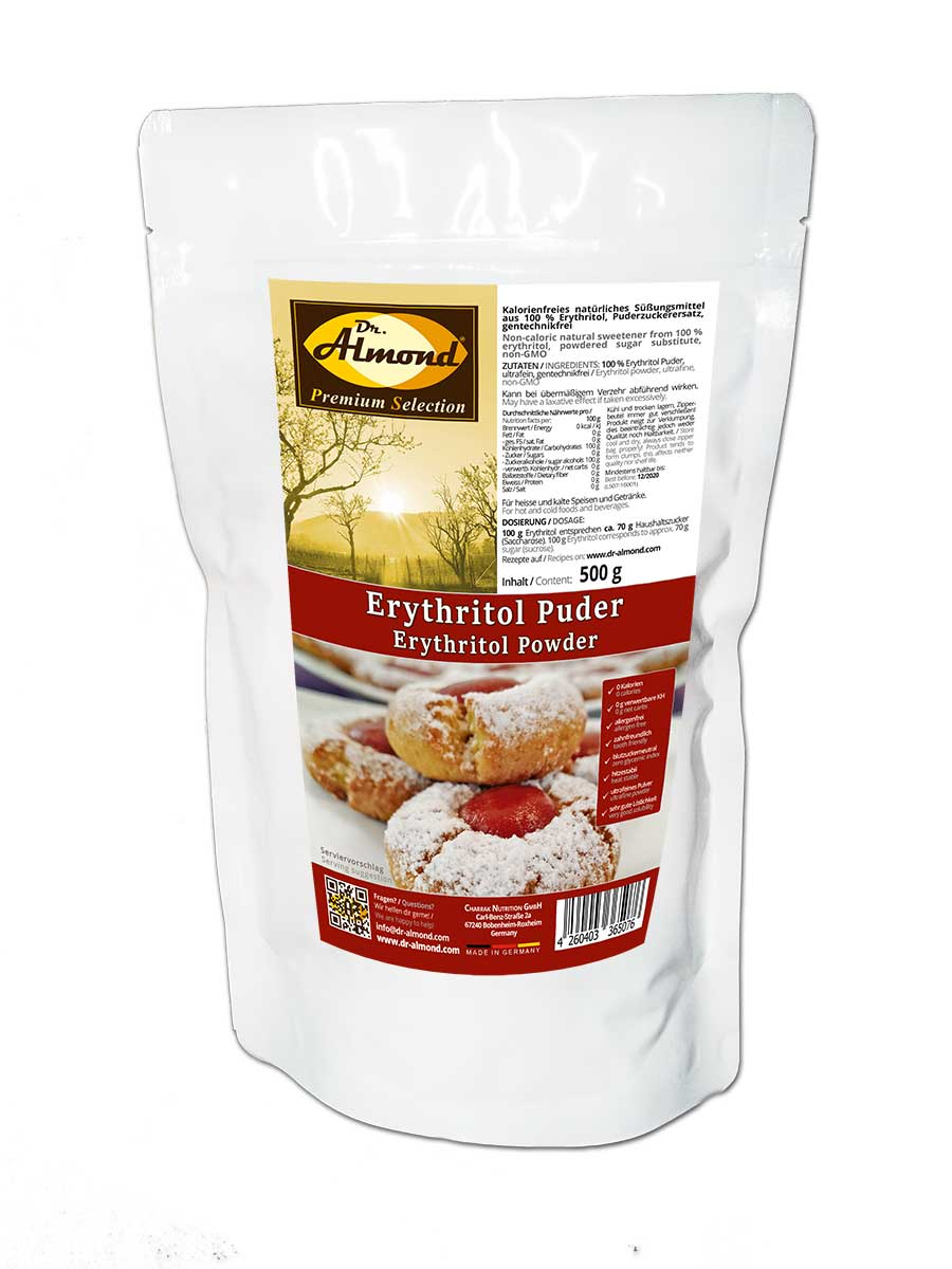 Erythritol Erythrit zuckerersatz xucker light no sugar serapur Puder Puderzucker