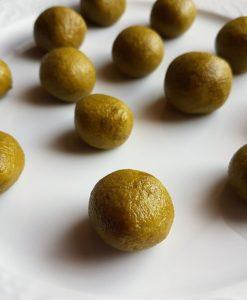Pistazienmarzipan Pistazien low-carb Marzipan zuckerfreies Marzipan Rezept ohne Zucker