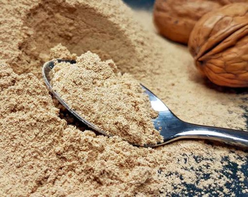 Walnussmehl Walnussprotein PREMIUM low-carb glutenfrei extra fein vermahlen teilentölt