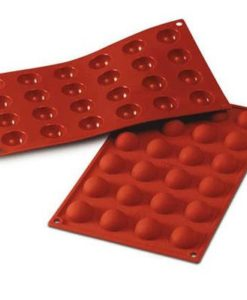 Silikomart SF006 Silikonform 24 Halbkugeln Pralinenform 3 cm