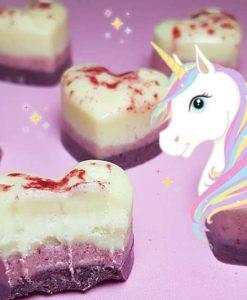 einhorn-schokolade-low-carb-rezept keto selbermachen Rittersport glittersport