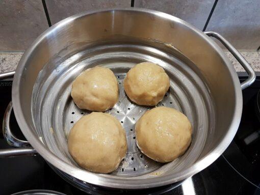 Germknoedel Dampfnudel Teig Backmischung Teigmischung low-carb glutenfrei sojafrei keto paleo kalorienarm