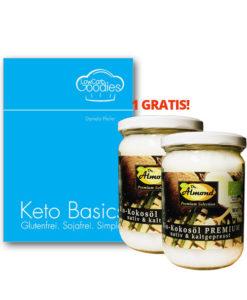 Buch Keto Basics: Glutenfrei. Sojafrei. Simple! von Daniela Pfeifer LowCarbGoodies