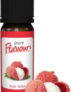 Pure Flavour LITSCHI Aroma 30 ml Tropfen Drops low carb ungesüsst zuckerfrei