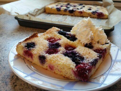 KUCHENZAUBER PUR - Backmischung für Kuchen, Muffins, Pfannkuchen und mehr - low-carb, glutenfrei, sojafrei, keto Kuchenmix