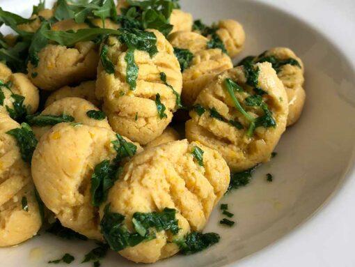 Gnocchi aus dem Kuchenzauber ungesüsst