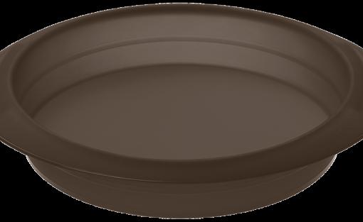 Flexiform Rund 26cm braun FLEXI-FORM Runde Form mit 26cm Durchmesser FlexiForm aus 100% Platin-Silikon: lebensmittelecht, geschmacksneutral, obstsäurebeständig und spülmaschinengeeignet Maximale Antihaftwirkung Temperaturbeständig von -40°C bis 240°C