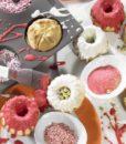 177-00 Lurch Flexiform Flexiform Gugelhupf Mini 6fach braun für niedliche Mini-Kuchen-3