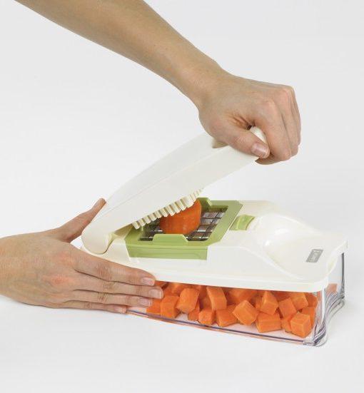 Lurch Würfel und Stifteschneider grün - perfekt für low carb Gemüsepommes