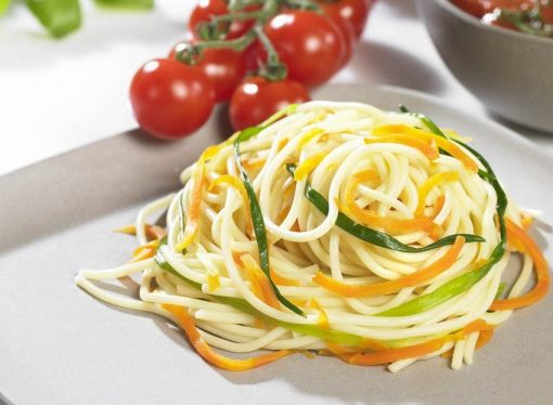 Lurch Super Spiralschneider mit Tornadoklinge für Gemüsenudeln low carb Nudeln