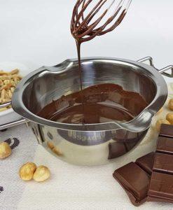 041_Schokoladenzauber-Vollmilch-low carb Schokolade selbermachen keto zuckerfrei