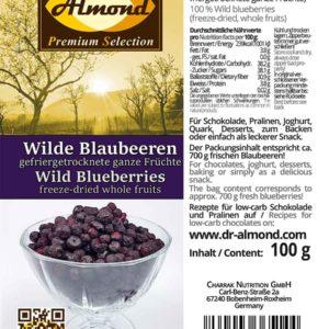 514_Wilde-Blaubeeren ganz_gefriergetrocknete low carb Snack