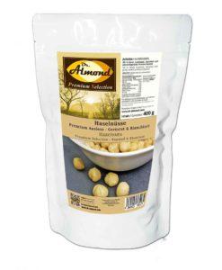 Haselnüsse geröstet & blanchiert PREMIUM AUSLESE low-carb Snack Konditorenqualität