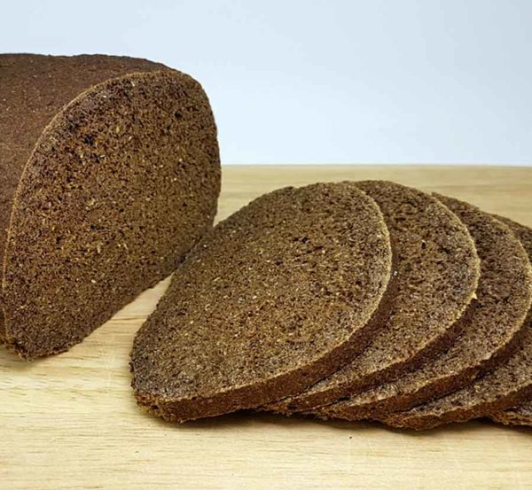 011_Schwarzbrot low carb glutenfrei VEGAN Backmischung Pumpernickel