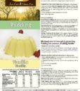 Pudding Vanille low carb glutenfrei sojafrei keto – Puddingpulver ohne Stärke, zuckerfrei, laktosefrei, vegan