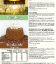 Pudding Schokolade low carb glutenfrei sojafrei keto – Puddingpulver ohne Stärke, zuckerfrei, laktosefrei, vegan