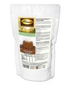 Pudding Schokolade low carb glutenfrei sojafrei keto - Puddingpulver ohne Stärke, zuckerfrei, laktosefrei, vegan