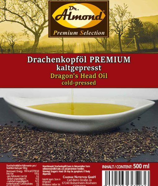 Drachenkopföl-Gourmet-Öl-Omega-3