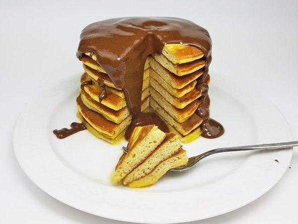 Pfannkuchen-Waffel-Teig-lowcarb-pancakes-glutenfrei-crepes-Schokolade