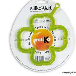 Silikomart EGGSET 2D Silikonform für Pfannkuchen Kleeblatt & Stern