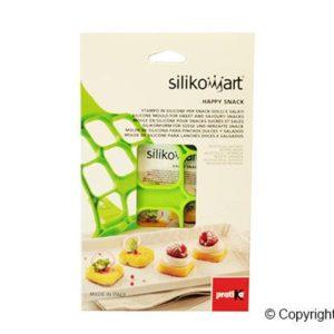 Silikomart PAN01 Happy Snack SQUARE Silikonform für Pfannkuchen Quadratisch Pfannkuchenwunder