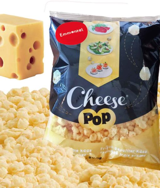 Cheesepop EMMENTALER – 100 % Käse, ohne Zusätze, keto & low carb – 500 g XXL Sparpackung