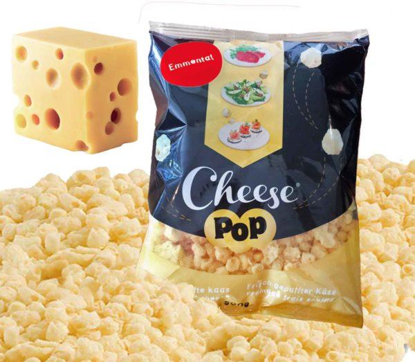 Cheesepop EMMENTALER - 100 % Käse, ohne Zusätze, keto & low carb - 500 g XXL Sparpackung