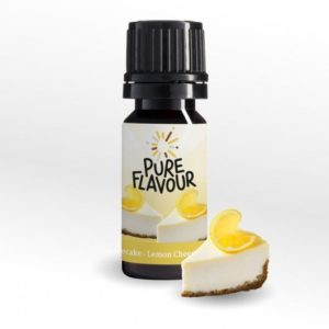 Pure Flavour LEMON CHEESECAKE Aroma 30 ml Tropfen Drops low carb ungesüsst zuckerfrei