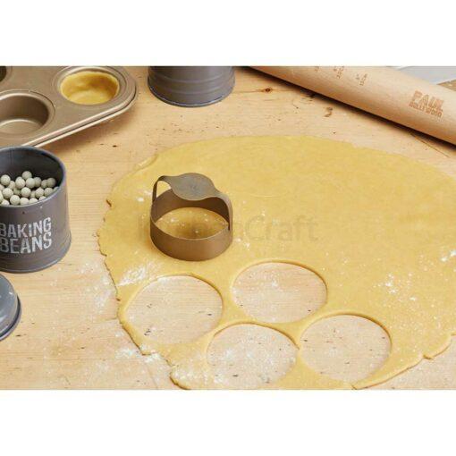 KitchenCraft Teigausstecher Edelstahl Set mit 3 Stück